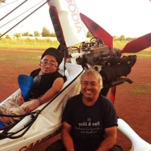 Mitch St.Pierre & Eddie Smith - Microlight Cambodia